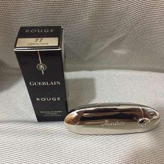 包郵) 全新! GUERLAIN Rouge G 寶石唇膏 #77 Geraldine 3.5g (原價 $425)