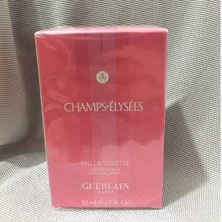 包順豐) 全新!Guerlain Champs-Élysées Eau de Toilette 香榭裏舍 淡香水 淡香氛 50mL 女朋友禮物 (原價$450)