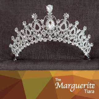 MARGUERITE Tiara/ Tiara Set/ Wedding Tiara/ Wedding Crown/ Bridal Tiara/ Bridal Crown/ Wedding Headband : 0.4/ OCCASION