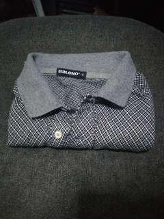 Baleno Checkered Polo Shirt