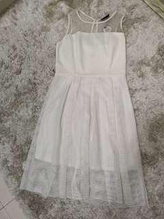 BN Woman White Midi Dress #under90
