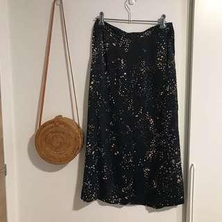 Saba silky skirt