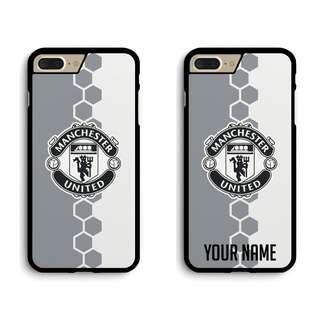 Monochrome Manchester United Custom Phone Case