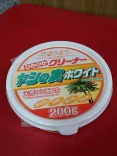 日本椰子白清潔劑200g