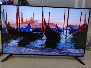 58 inch Akira 4k TV for sale.