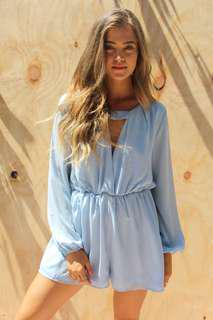 BLUE PLAYSUIT NEW