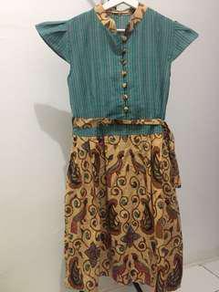 Dress batik #onlinesale