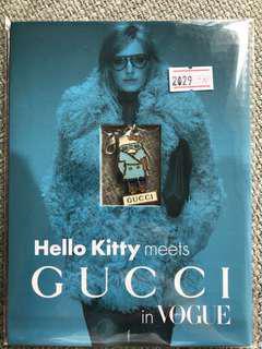 Gucci x Hello Kitty 拉鏈扣