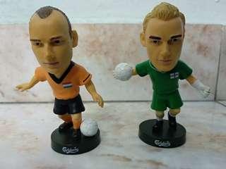 Carlsberg Football Figures