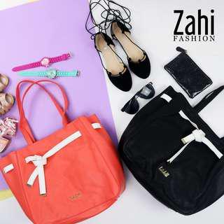 Marielle Ladies Korean Leather Casual Shoulder Tote Bag