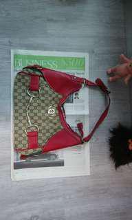 GG red handbag