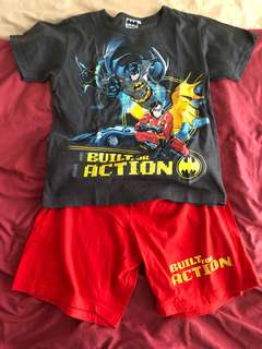 Boys tshirt and shorts set