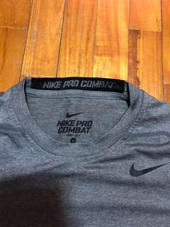 Nike Pro Combat (Grey) size S