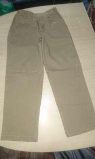 2pcs Khaki pants school uniform
