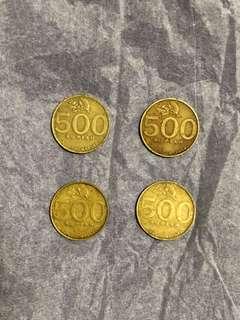 Koin 500 rupiah