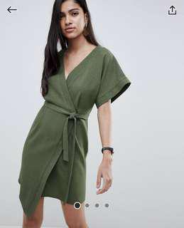 ASOS Design wrap dress