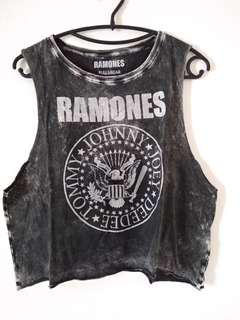 Pull and Bear Ramones Tank Top