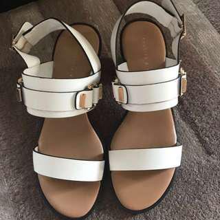 100% new size 36 Charles & Keith shoes sandals 涼鞋