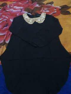 Baju payet hitam