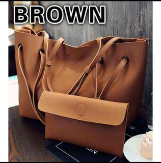 2 in 1 tote bag + handy pouch
