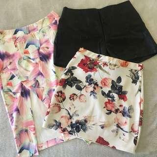 Skirt and Short Bundle