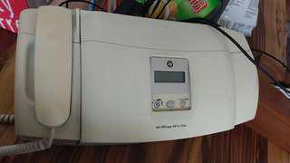 🚚 送美式咖啡 HP OJ4355 傳真噴墨印表機 有話筒功能