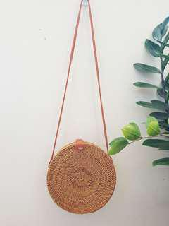 Guaranteed Authentic 22cm rattan bag from Bali