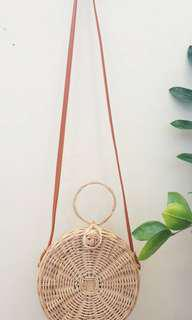GUARANTEED AUTHENTIC: Rattan bag from Bali