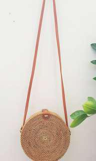 GUARANTEED AUTHENTIC: 20cm Rattan bag from Bali