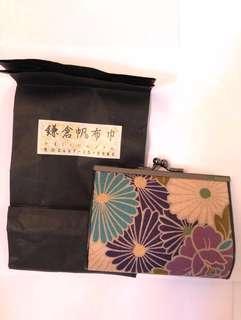 日本鎌倉帆布散銀包