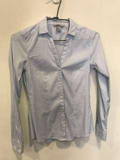 🚚 H&M修身長袖襯衫