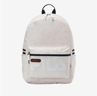 PREORDER | Fila Korea Heritage Court Backpack Bag (Cream) FS3BPA5301X_CRM