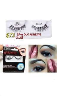 【AUD$10.99】ARDELL DEMI WISPIES BLACK **one of the most popular false eyelashes on YouTubers ***2016 InStyle Best Beauty Buys🏆FREE DUO Adhesive Glue 送埋DUO膠水 抵!!