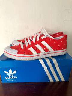 Adidas Honey Strips Red Sneakers