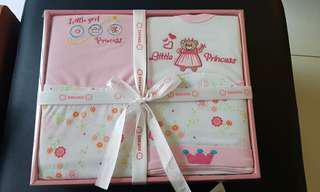 Baby Gift Set for girl 4 pc