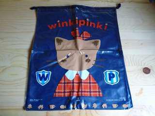 Sanrio Winkipinki 膠索袋 1992