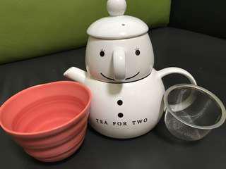全新家居辦公室小茶壺杯子套裝聖誕系列