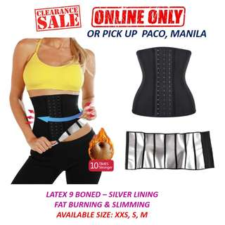 bd7d530b065 Latex 9 Boned Waist Trainer with Sweat Booster Lining
