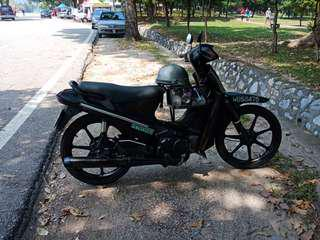motocycke for sale,  good condition n engine, rtax xpired.