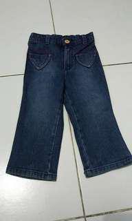 Preloved baby jeans