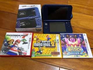 🚚 *NEW*任天堂3DS-LL(缺錢換現)