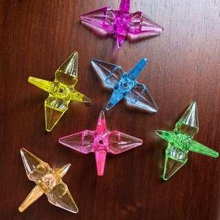 紙鶴膠水晶