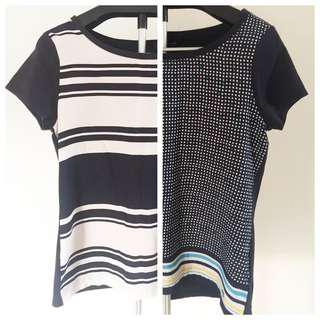 Two Tommy Hilfiger Blouses size M bought @ $99 each. Selling @ $29 each or $50 for both