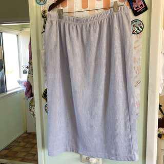 Lilac skirt plus size