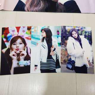Twice Sana Fansite Photos/Postcard