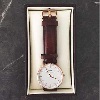Daniel Wellington Authentic Classic Bristol Watch *FREE TRACKED POSTAGE*