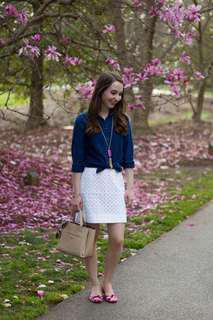 JCrew Size 0 crochet skirt