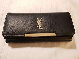 Black Saffiano Wallet