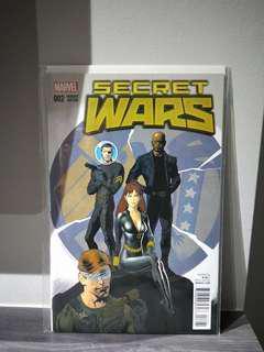 Secret Wars #2 Nowlan Variant