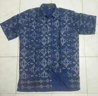Baju batik Pekalongan, size XL fit L, no minus